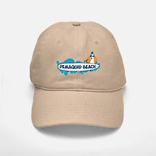 Pemaquid Beach - Surf Design. Baseball Baseball Cap