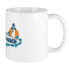Pemaquid Beach - Surf Design. Mug