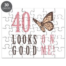 40th Birthday Butterfly Puzzle