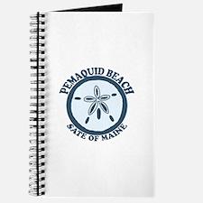 Pemaquid Beach - Sand Dollar Design. Journal