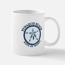 Pemaquid Beach - Sand Dollar Design. Mug