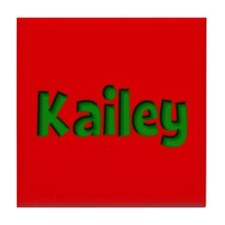 Kailey Red and Green Tile Coaster