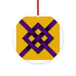 Midrealm Purple Fret Award medallion