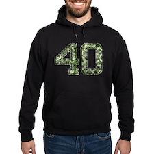 40, Vintage Camo Hoodie