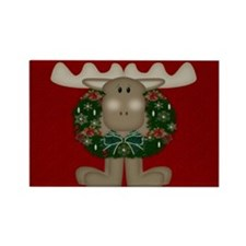 Christmas Moose Magnets (10 pack)