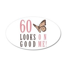 60th Birthday Butterfly Wall Decal