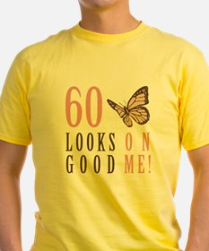60th Birthday Butterfly T