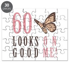 60th Birthday Butterfly Puzzle