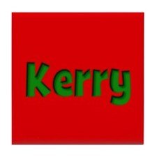 Kerry Red and Green Tile Coaster