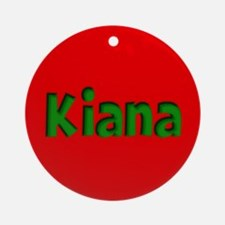 Kiana Red and Green Ornament (Round)