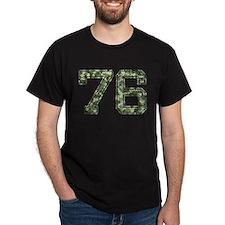 76, Vintage Camo T-Shirt