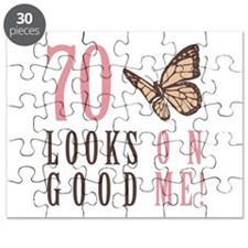 70th Birthday Butterfly Puzzle