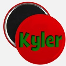 Kyler Red and Green Magnet