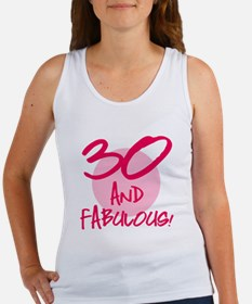 30 And Fabulous Women's Tank Top