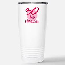 30 And Fabulous Travel Mug