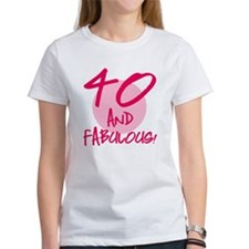 40 And Fabulous Tee
