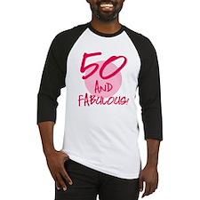 50 And Fabulous Baseball Jersey
