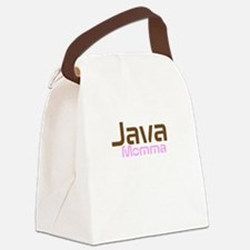 Java Momma Canvas Lunch Bag
