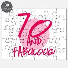 70 And Fabulous Puzzle