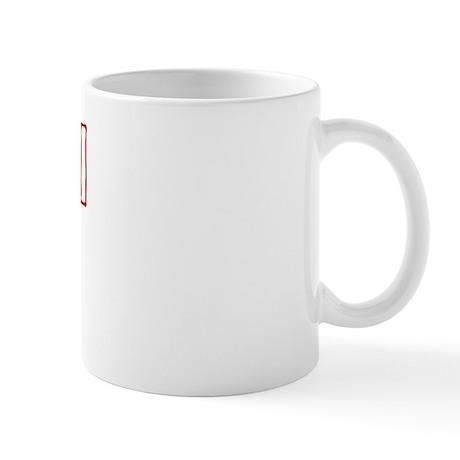 """Phys Ed Red"" Mug"
