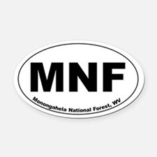 MNF Car Magnet