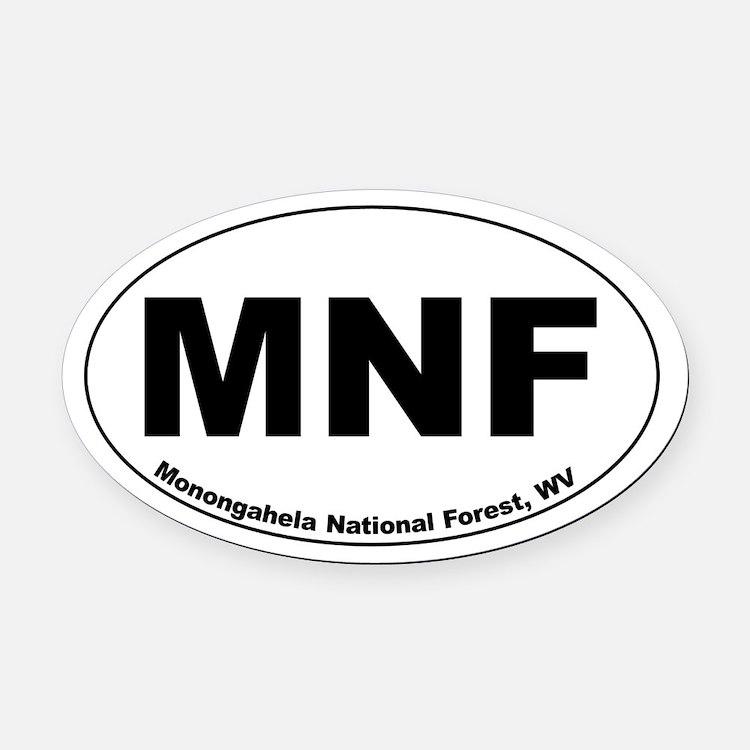MNF Car Magnet