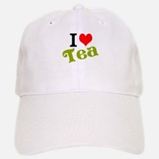 I Love Tea Baseball Baseball Cap