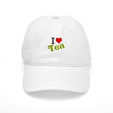 I Love Tea Baseball Cap