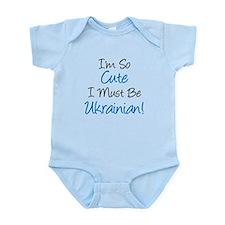 Im So Cute Ukrainian Infant Bodysuit