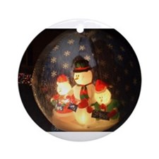Cute Fill up Ornament (Round)