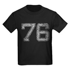 76, Grey, Vintage T