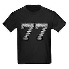 77, Grey, Vintage T