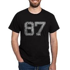 87, Grey, Vintage T-Shirt