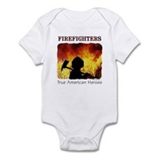 Firefighters TAH Infant Creeper