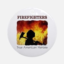 Firefighters TAH Ornament (Round)