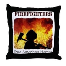 Firefighters TAH Throw Pillow