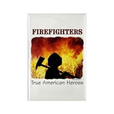 Firefighters TAH Rectangle Magnet (10 pack)