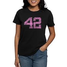 42, Pink Tee