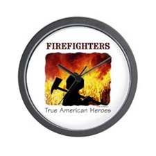 Firefighters TAH Wall Clock