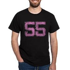 55, Pink T-Shirt
