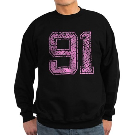 91, Pink Sweatshirt (dark)