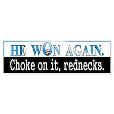 Choke On It, Rednecks.