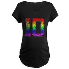 10, Gay Pride, T-Shirt