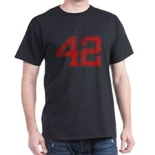 42, Red, Vintage T-Shirt