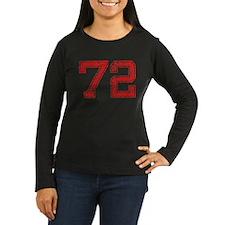 72, Red, Vintage T-Shirt