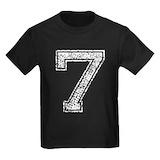 7 Kids T-shirts (Dark)