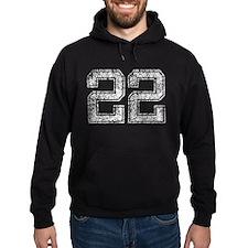 22, Vintage Hoodie