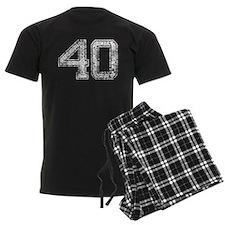 40, Vintage pajamas
