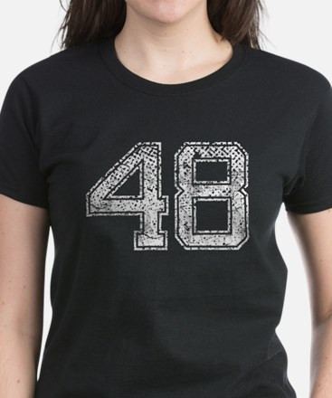 48, Vintage Women's Dark T-Shirt