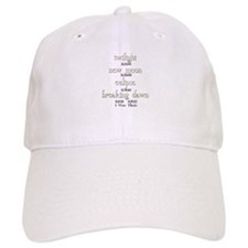 All Twilight Dates I Was There Baseball Cap